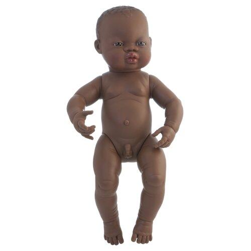 Пупс Miniland мальчик африканец, 40 см, 31003Куклы и пупсы<br>