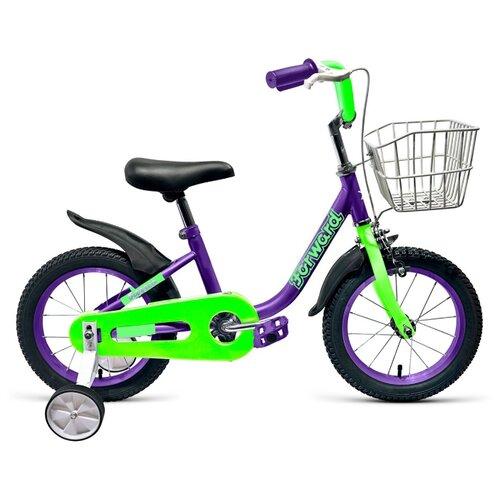 Детский велосипед FORWARD Barrio 14 (2019) фиолетовый (требует финальной сборки) el barrio úbeda