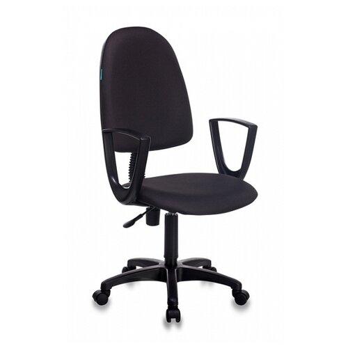 Компьютерное кресло Бюрократ CH-1300N офисное, обивка: текстиль, цвет: черный 15-21 офисное кресло бюрократ ch 1300n