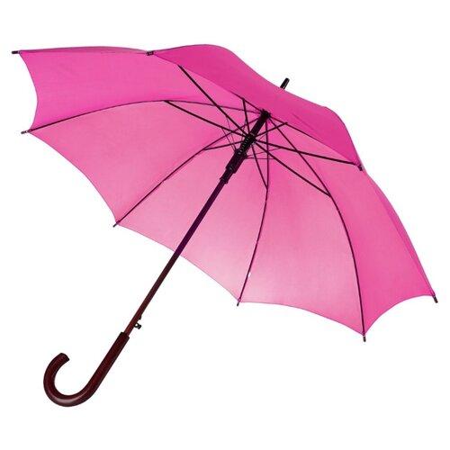 Фото - Зонт-трость полуавтомат Unit Standard (393) розовый зонт трость полуавтомат три слона 1100 бордовый