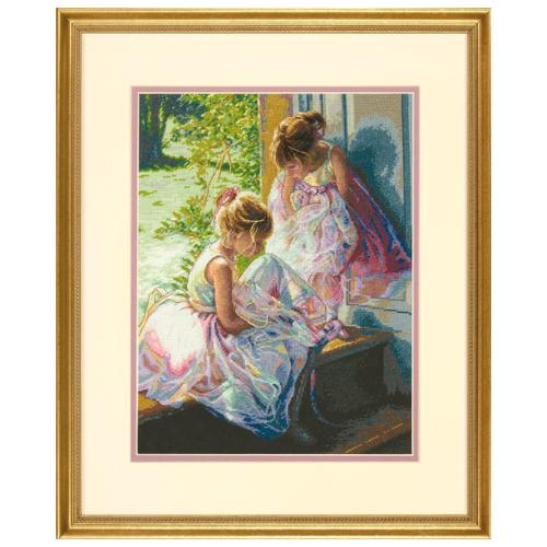 Купить Dimensions Набор для вышивания Мечты балерины 27 x 35 см (70-35280), Наборы для вышивания