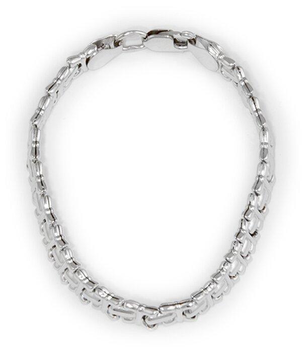Купить Эстет Браслет декоративного плетения из серебра 925 пробы 01Б750010, 16 см, 4.85 г по низкой цене с доставкой из Яндекс.Маркета (бывший Беру)