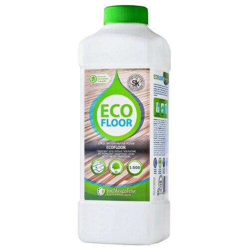 БиоМикроГели Универсальное моющее средство для ручной мойки полов EcoFloor 1 л