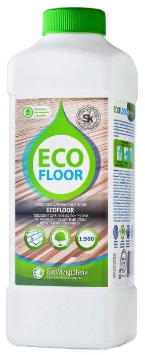 БиоМикроГели Средство для ручной мойки полов EcoFloor