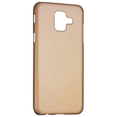 Чехол Volare Rosso Soft-touch для Samsung Galaxy A6 (пластик) золотой