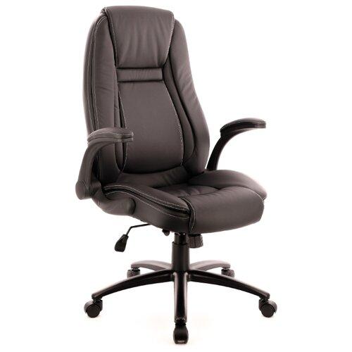 Фото - Компьютерное кресло Everprof Trend TM для руководителя, обивка: искусственная кожа, цвет: черный компьютерное кресло everprof trend tm для руководителя обивка искусственная кожа цвет черный