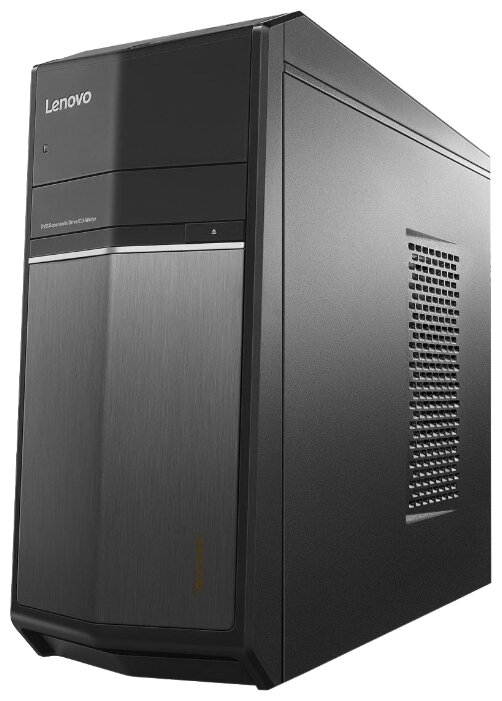 Настольный компьютер Lenovo 710-25ISH (90FB001QRS) Mini-Tower/Intel Core i7-6700/8 ГБ/8 ГБ SSD+1 ТБ