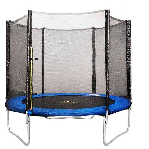 Каркасный батут DFC Trampoline Fitness 8FT-TR-E 244х244х231 см синийКаркасные батуты<br>