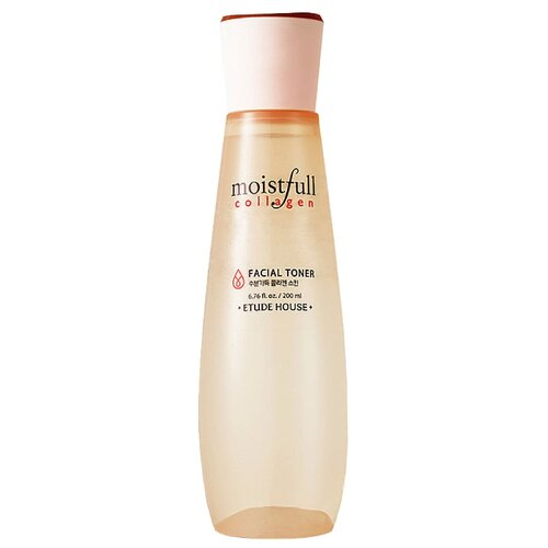 Etude House Тонер Moistfull Collagen 200 мл тонер коллагеновый moistfull collagen toner 200 мл etude house collagen