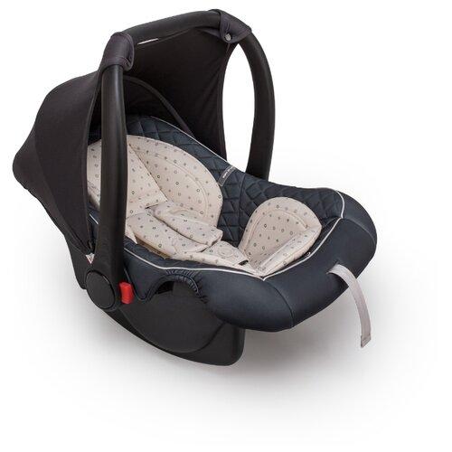 Автокресло-переноска группа 0+ (до 13 кг) Happy Baby Skyler V2, graphite автокресло группа 1 2 3 9 36 кг little car ally с перфорацией черный