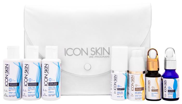 Icon Skin набор №4 Совершенная кожа 360° travel size для коррекции тяжелой степени акне 7 средств — купить по выгодной цене на Яндекс.Маркете