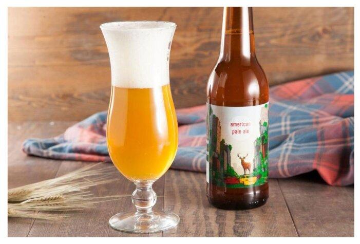 Пиво светлое ВкусВилл American Pale Ale 0.5 л
