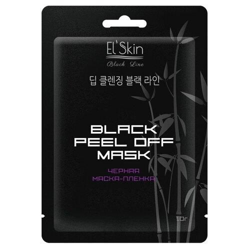 El'Skin Черная маска-пленка, 10 г черная маска