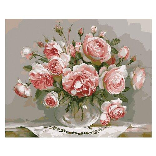 Molly Картина по номерам Розовый вечер 40х50 см (KH0068/1) molly картина по номерам тигр 40 50 см