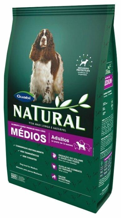 Корм для собак Guabi Natural для взрослых собак средних пород