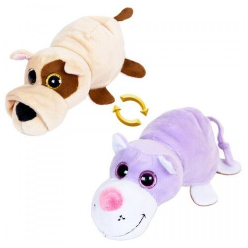 Фото - Игрушка мягкая ABtoys Вывернушка Собака-Кот 6 см мягкая игрушка abtoys собака m2032 14 см