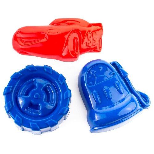 Купить Набор Росигрушка Тот самый Маккуин 1040 красный/синий/голубой, Наборы в песочницу