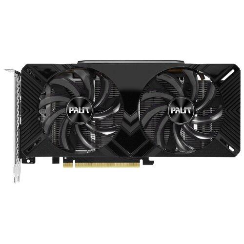 Видеокарта Palit GeForce GTX 1660 1530MHz PCI-E 3.0 6144MB 8000MHz 192 bit DVI HDMI HDCP Dual OC Retail