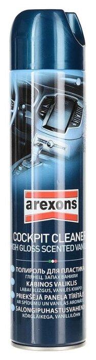Arexons Полироль панели и пластика салона с запахом ванили 5423, 0.6 л