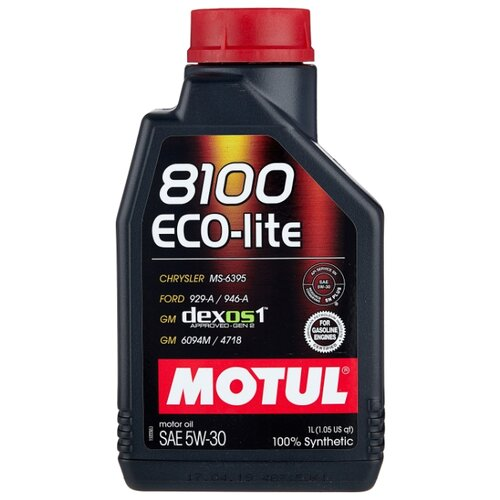 Моторное масло Motul 8100 Eco-lite 5W30 1 л моторное масло motul 8100 eco lite 0w 20 1 л