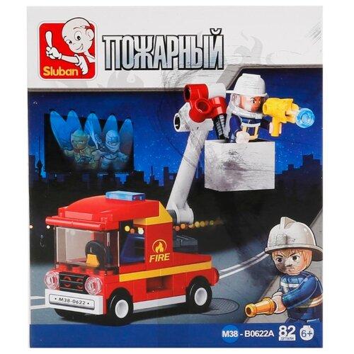 Купить Конструктор SLUBAN Пожарные спасатели М38-B0622A, Конструкторы