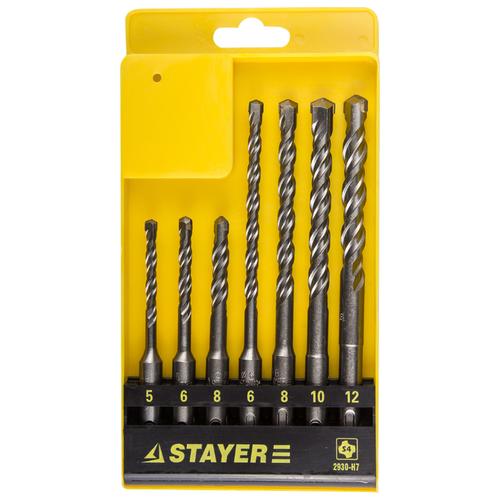 Набор SDS-plus STAYER 2930-H7 stayer profi 2930 h7