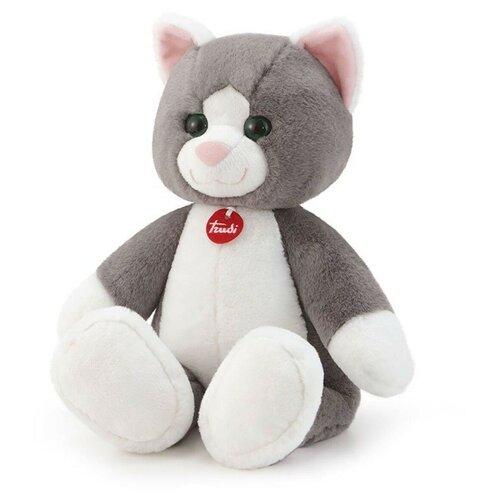 цена на Мягкая игрушка Trudi Кошечка серая 53 см