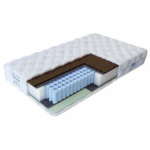 Матрас Промтекс-Ориент Soft18 стандарт-комби 1 120x190 пружинный белый матрас промтекс ориент soft комби 120x190 ортопедический пружинный белый