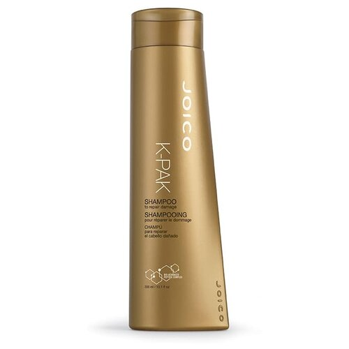 Фото - Joico шампунь K-Pak Reconstruct восстанавливающий для поврежденных волос 300 мл joico мусс для укладки с термозащитой k pak 300 мл