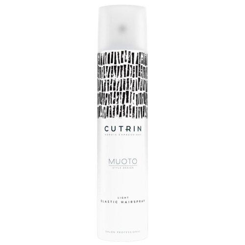 Фото - Cutrin Лак для волос Muoto Elastic, слабая фиксация, 300 мл лак для волос моментальной фиксации cutrin muoto strong instant 300 мл