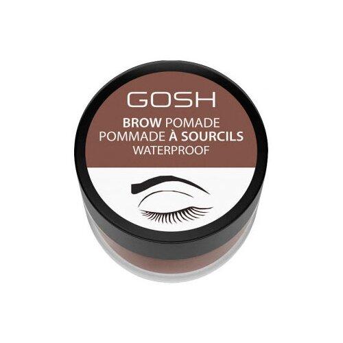 GOSH Помада для бровей Brow Pomade 001, brown помада gosh gosh go025lwcjyv1