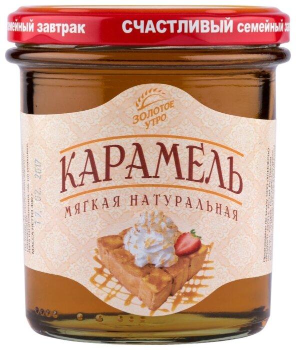 Сироп Золотое утро Карамель мягкая натуральная
