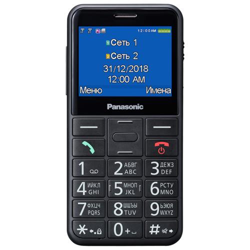 Телефон Panasonic KX-TU150RU черный телефон