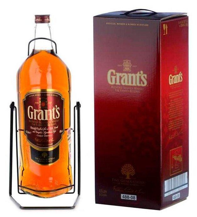 Виски Grant's Family Reserve, 4.5 л, подарочная упаковка