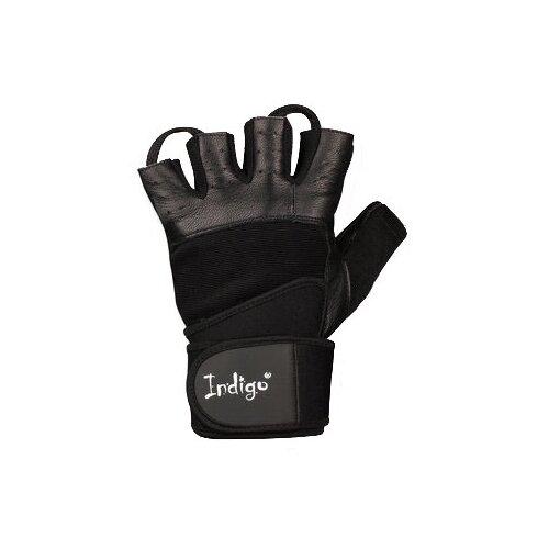 Перчатки Indigo с широким напульсником SB-16-1089 черный XLПерчатки<br>