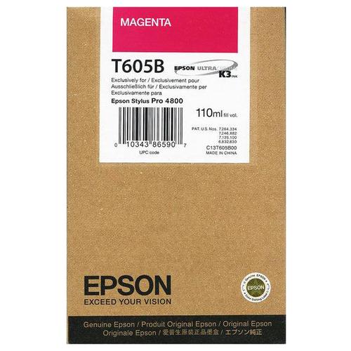 Фото - Картридж Epson C13T605B00 картридж струйный epson t605b c13t605b00 magenta
