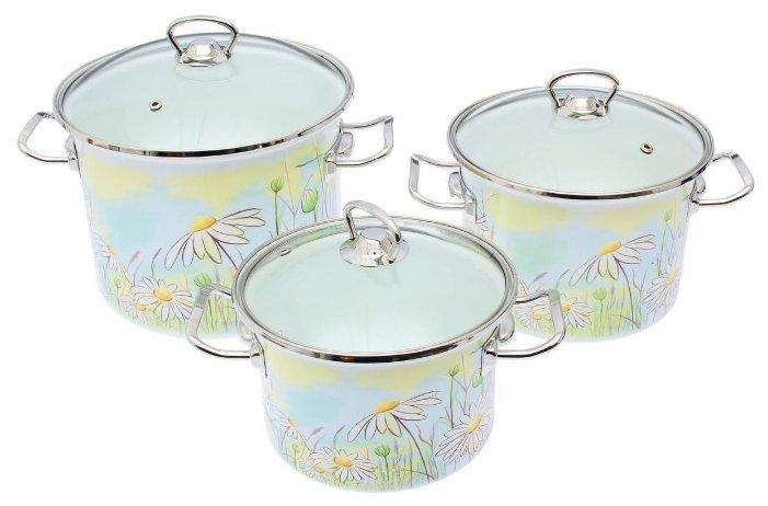 Набор посуды IDILIA I1500/сакс 3пр.