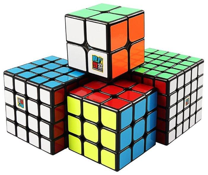 Набор головоломок Moyu 2x2x2-5x5x5 Cubing Classroom SET с сумочкой 4 шт.