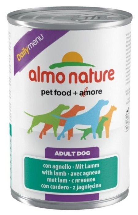 Корм для собак Almo Nature Daily Menu ягненок