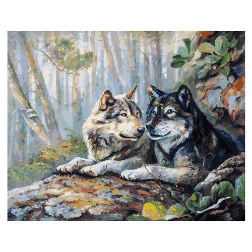 Купить Белоснежка Картина по номерам Пара 40х50 см (182-AB), Картины по номерам и контурам