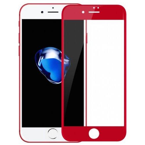Защитное стекло Baseus PET Soft 3D Tempered Glass Film для Apple iPhone 7 Plus красныйЗащитные пленки и стекла<br>