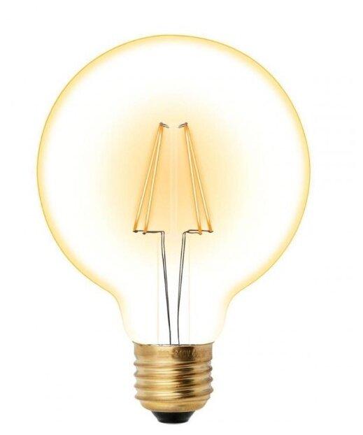 Светодиодная лампа Uniel 6Вт, LED-G95-6W/GOLDEN/E27 GLV21GO 550Лм 2200К (UL-00002359)