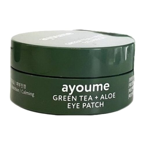 Ayoume Патчи Green Tea+Aloe Eye Patch (60 шт.)Для глаз<br>