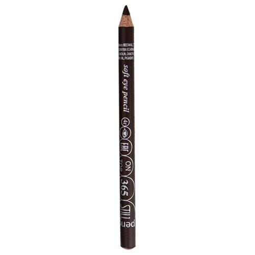 STILL Мягкий карандаш для век On Top 365 насыщенный коричневыйКонтур для глаз<br>