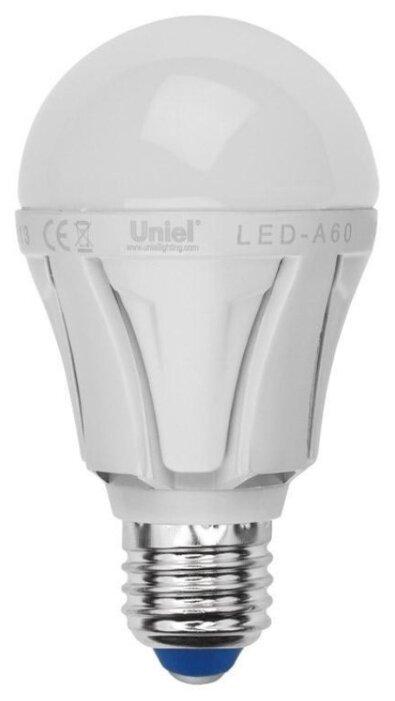 Uniel Яркая LED-A60 12W / NW / E27 / FR PLP01WH UL-00001527