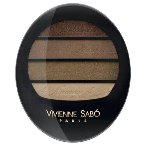 Vivienne Sabo Тени для век Quatre Nuances 74Тени<br>