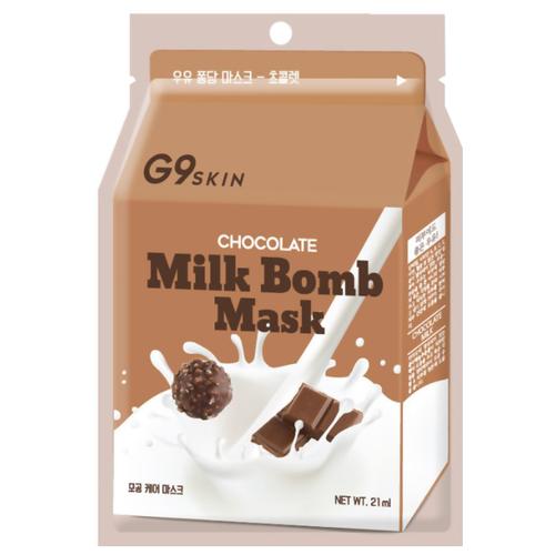 G9SKIN тканевая маска Milk Bomb Chocolate, 21 млМаски<br>