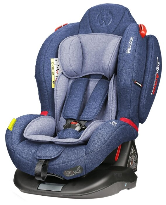 Автокресло группа 0/1/2 (до 25 кг) Welldon Royal Baby Dual Fit Isofix