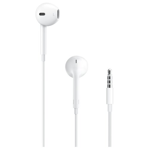 Наушники Apple EarPods (3.5 мм) белый apple earpods md827zm a белый