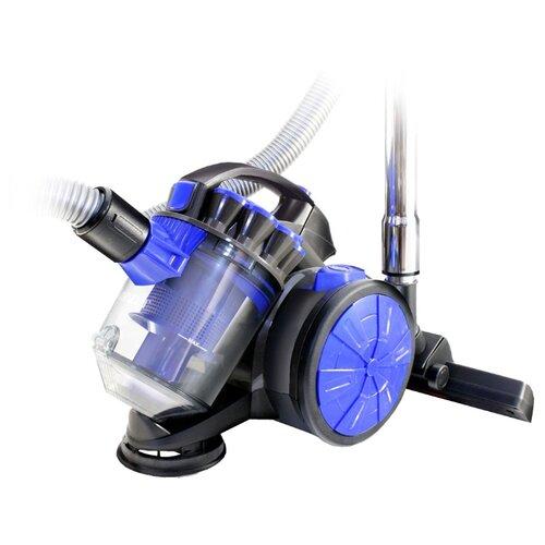 Пылесос Ginzzu VS419 серый/синий